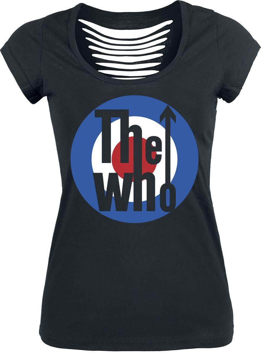 The Who Logo Koszulka damska czarny
