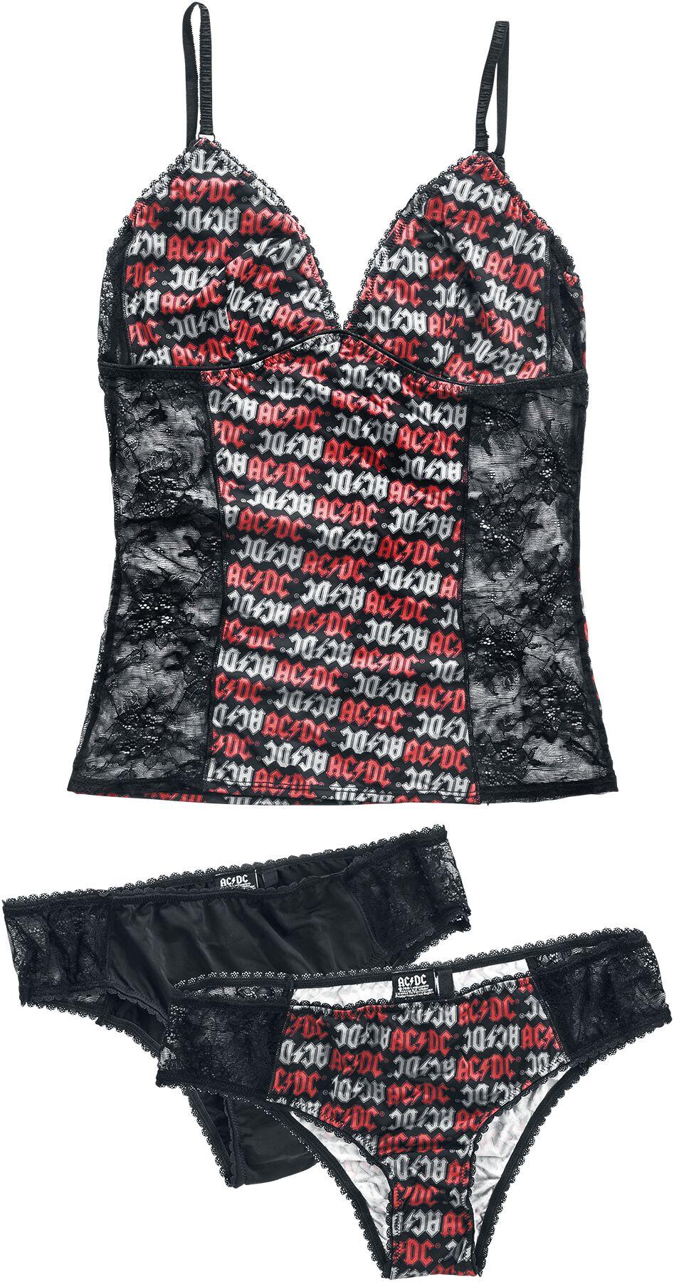 Image of   AC/DC EMP Signature Collection Girlie undertøj multifarvet