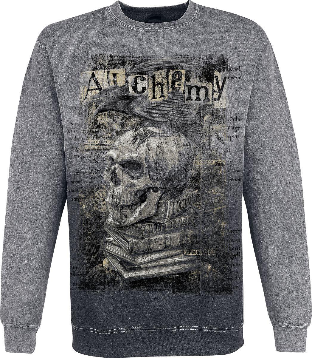 Image of   Alchemy England Poe´s Raven Sweatshirt grå