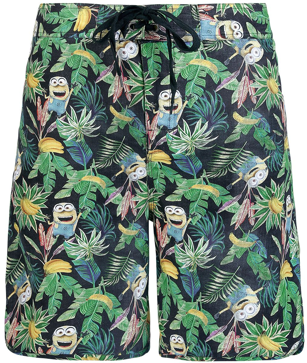 Image of   Minions Hawaii Badeshorts multifarvet