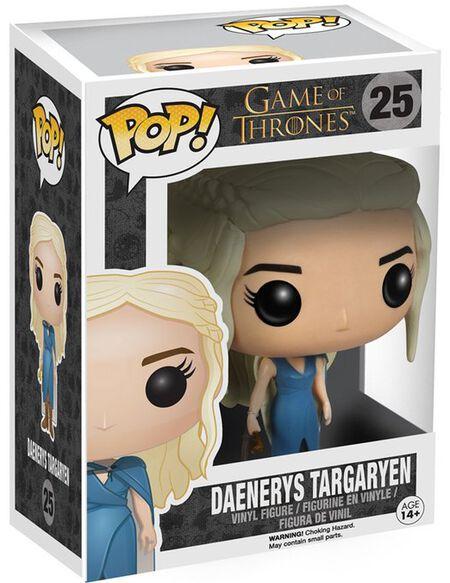 Figurine Pop! Daenerys en Robe Bleue Game of Thrones
