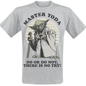 Star Wars Yoda - Do Or Do Not T-shirt gris chiné