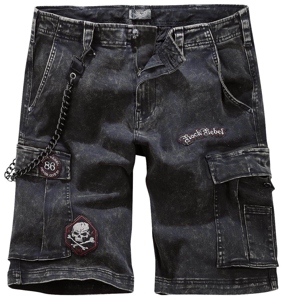 Image of   Rock Rebel by EMP Garageland Shorts sort