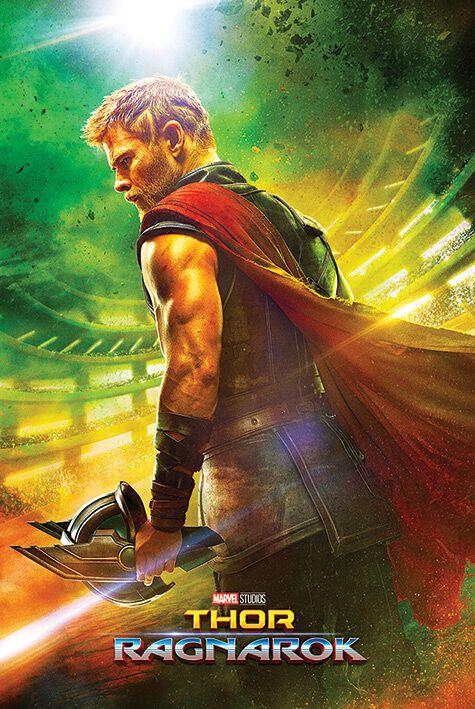 Image of   Thor Ragnarok - Teaser Plakat multifarvet