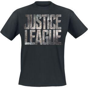 T-Shirt Homme Logo Justice League DC Comics - Noir - S - Noir