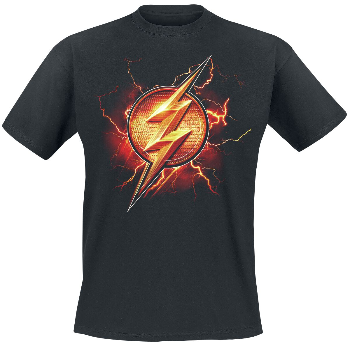 Image of   Justice League The Flash - Logo T-Shirt sort