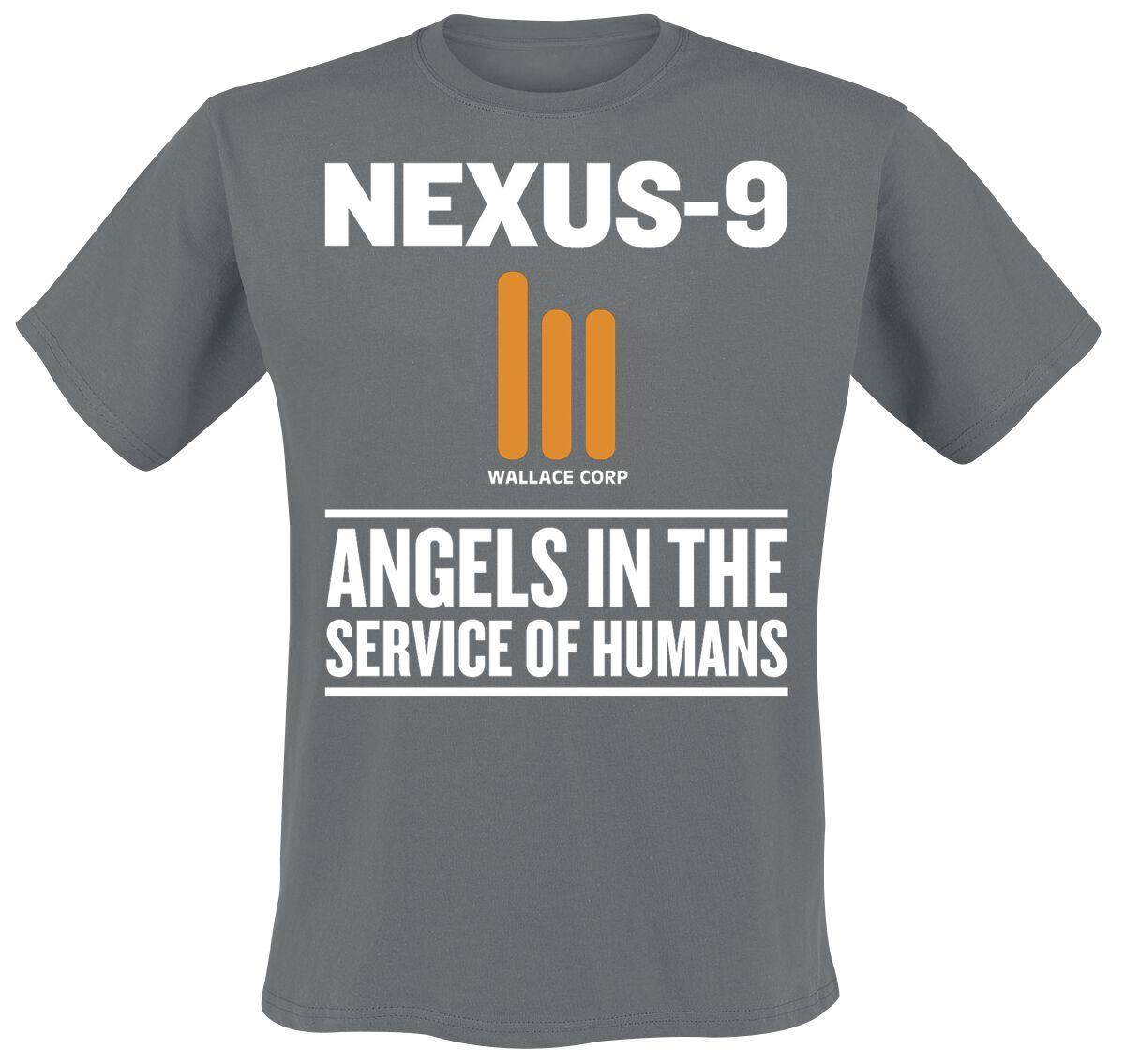 Merch dla Fanów - Koszulki - T-Shirt Blade Runner 2049 - Nexus 9 T-Shirt ciemnoszary - 369275