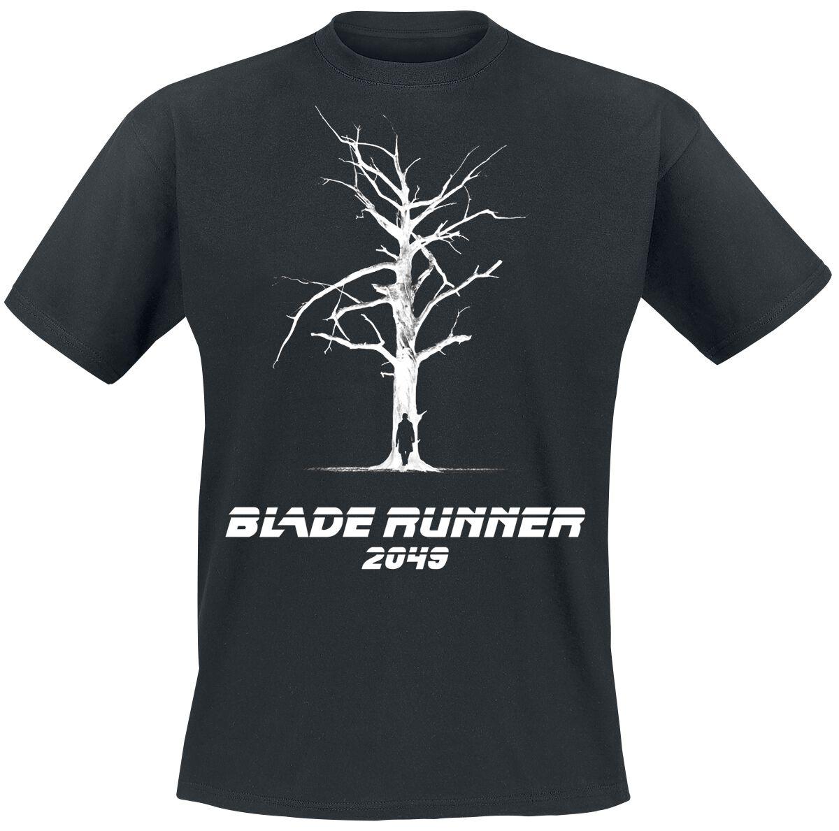 Merch dla Fanów - Koszulki - T-Shirt Blade Runner 2049 - Tree T-Shirt czarny - 369277