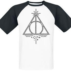 Harry Potter Les Reliques De La Mort T-shirt blanc/noir