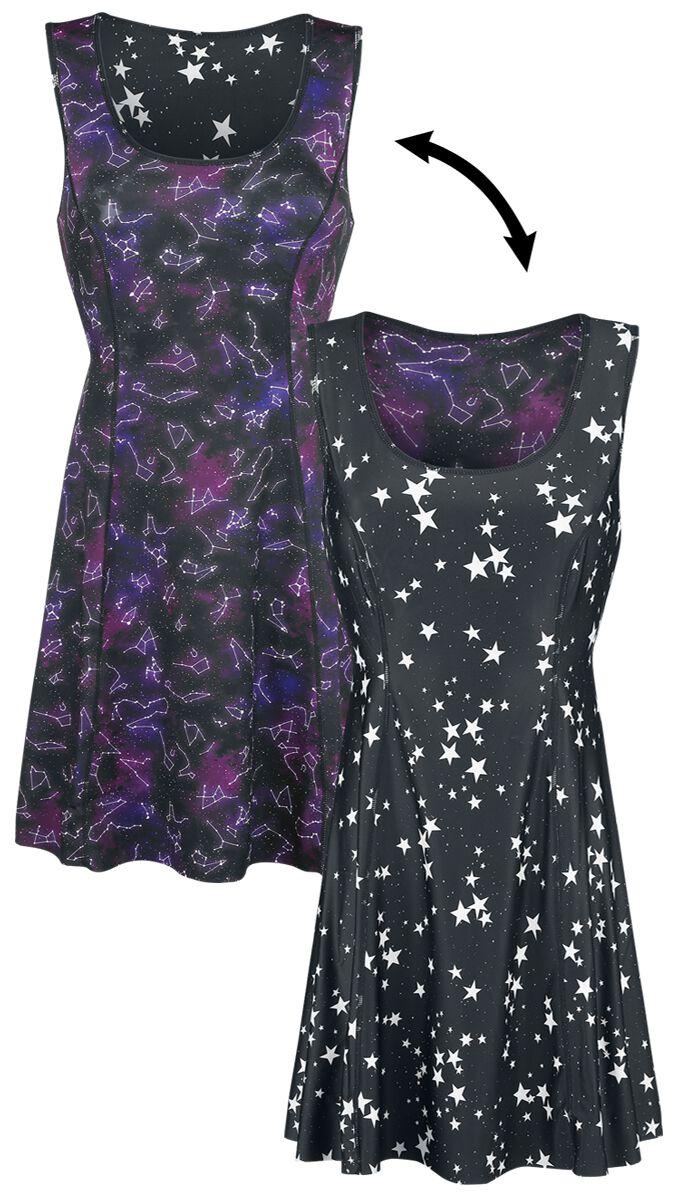 Image of   Galaxy Dress Kjole multifarvet