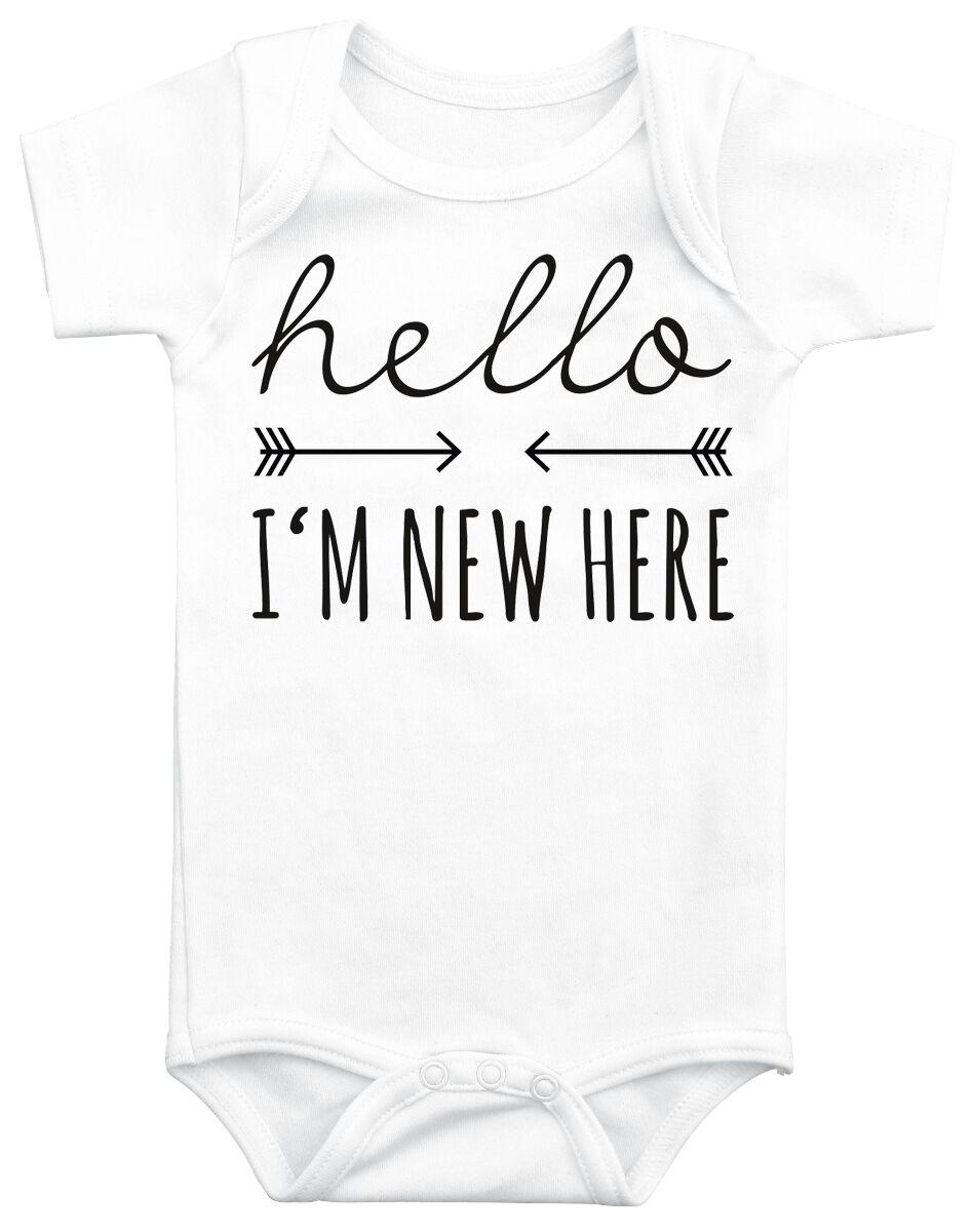 Fun Shirts - Odzież dziecięca i niemowlęca - Body Hello I´m New Here Body biały - 369310