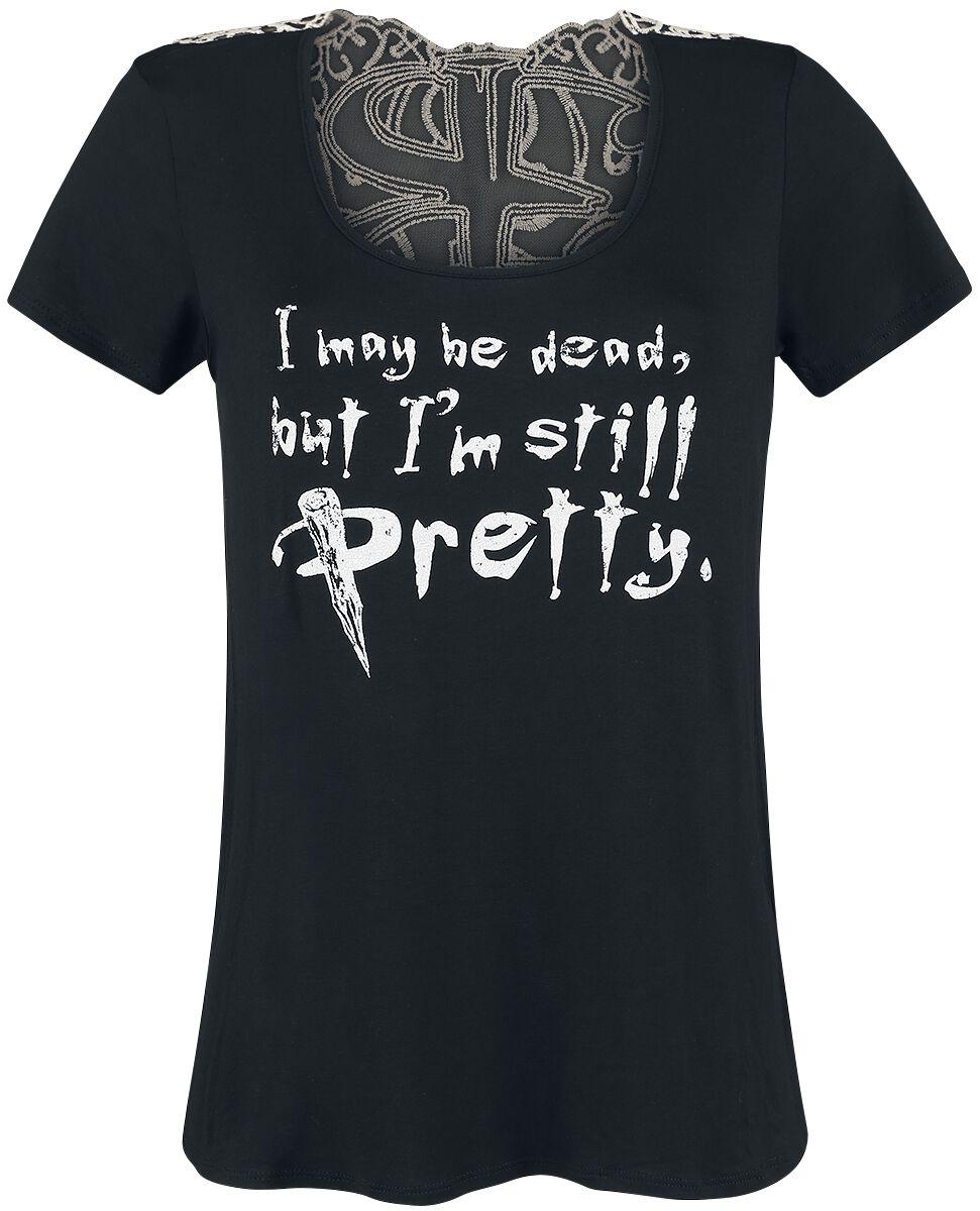 Merch dla Fanów - Koszulki - Koszulka damska Buffy: Postrach Wampirów Still Pretty Koszulka damska czarny/biały - 369474