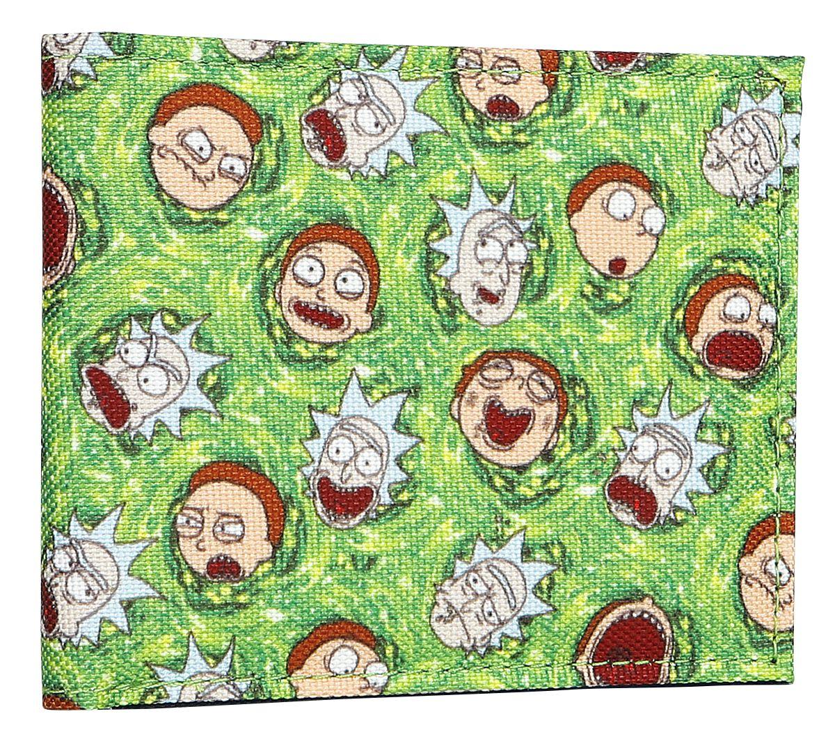 Image of   Rick And Morty Portal Pung multifarvet
