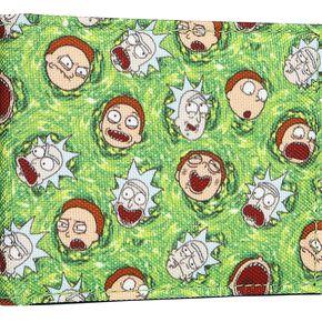 Rick & Morty Portail Portefeuille multicolore