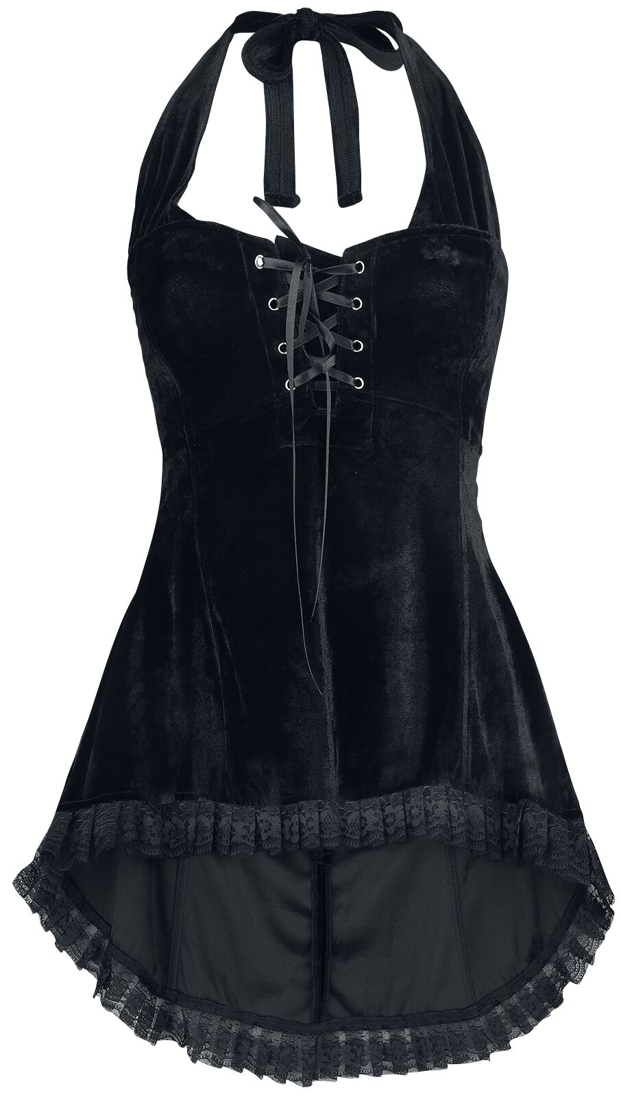 Image of   Gothicana by EMP Kaylee Girlie top sort