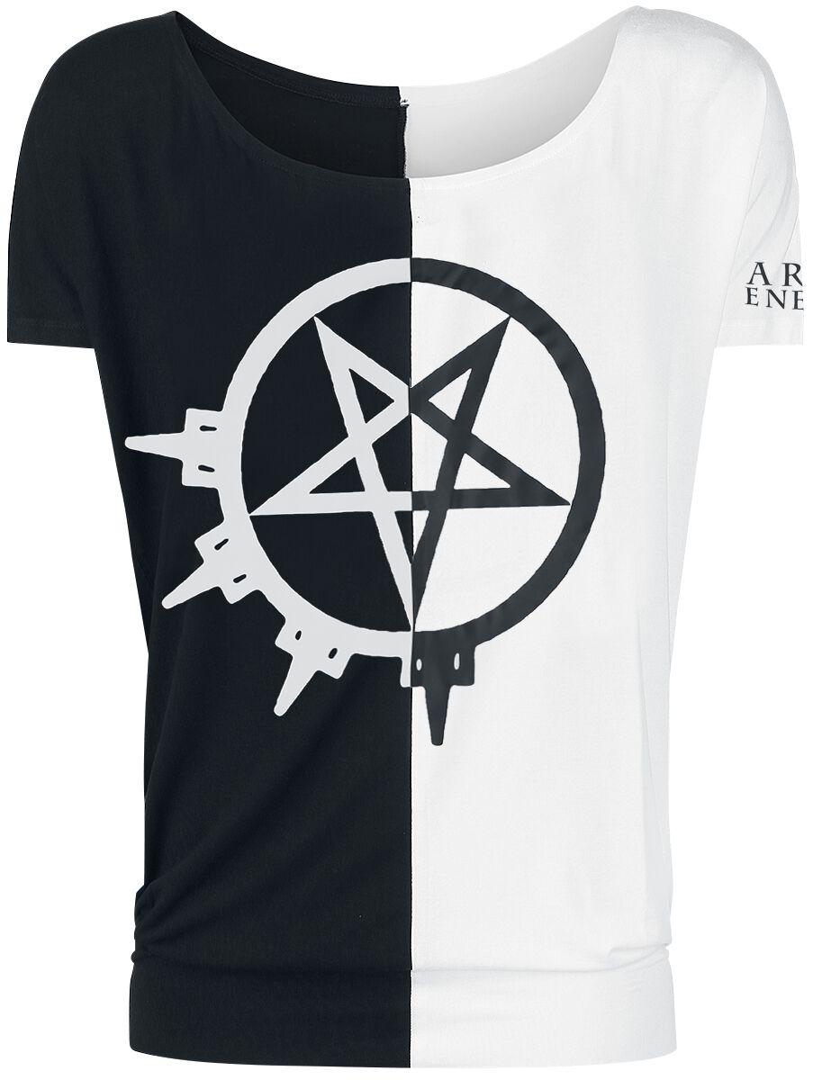 Zespoły - Koszulki - Koszulka damska Arch Enemy 2 Tone Pentagram Koszulka damska czarny - 369547