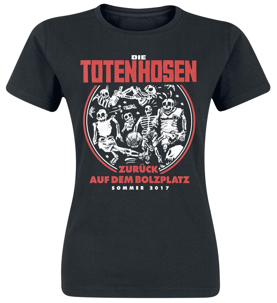 Image of   Die Toten Hosen Zurück auf dem Bolzplatz Girlie trøje sort