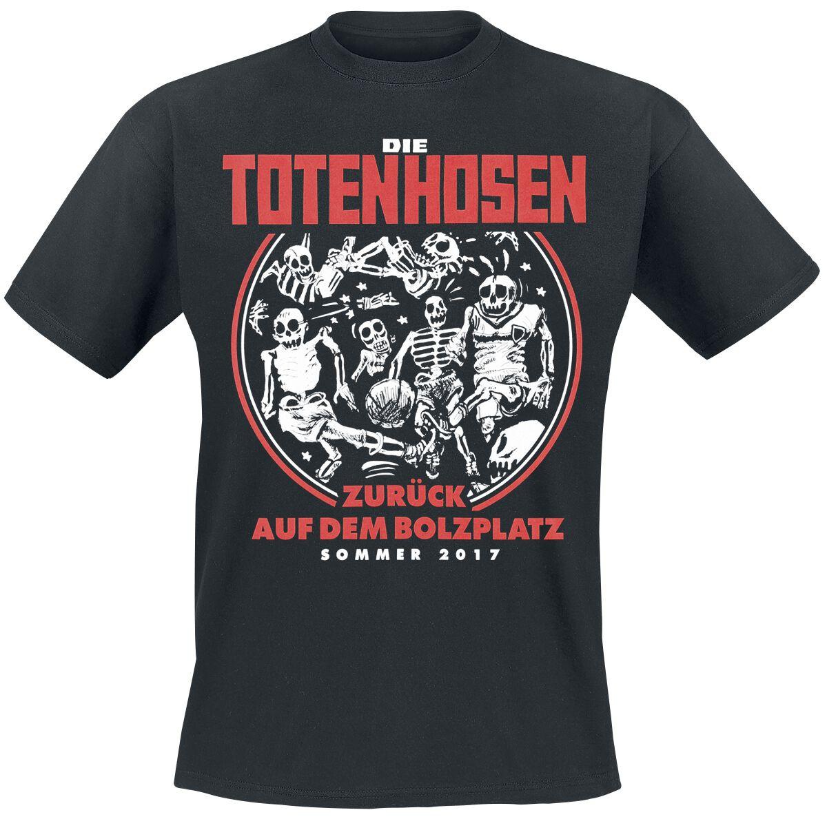 Zespoły - Koszulki - T-Shirt Die Toten Hosen Zurück auf dem Bolzplatz T-Shirt czarny - 369561