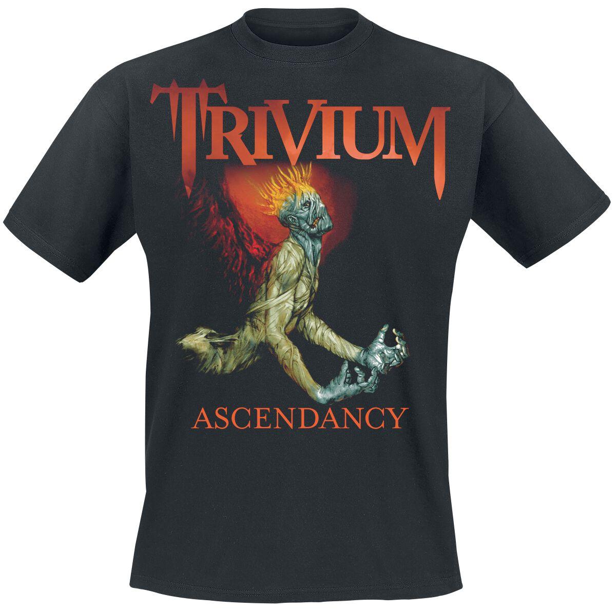 Zespoły - Koszulki - T-Shirt Trivium Ascendancy T-Shirt czarny - 369578