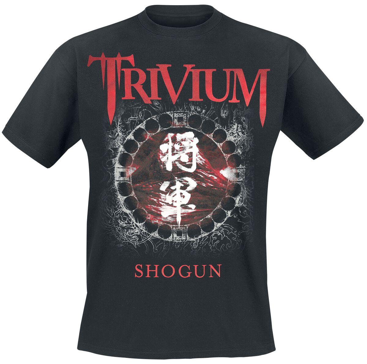 Zespoły - Koszulki - T-Shirt Trivium Shogun T-Shirt czarny - 369581