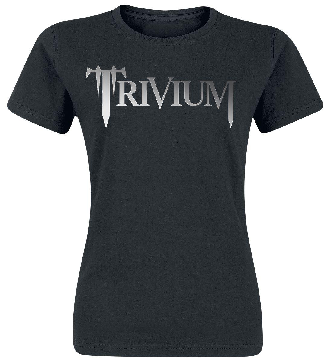 Zespoły - Koszulki - Koszulka damska Trivium Classic Logo Koszulka damska czarny - 369584