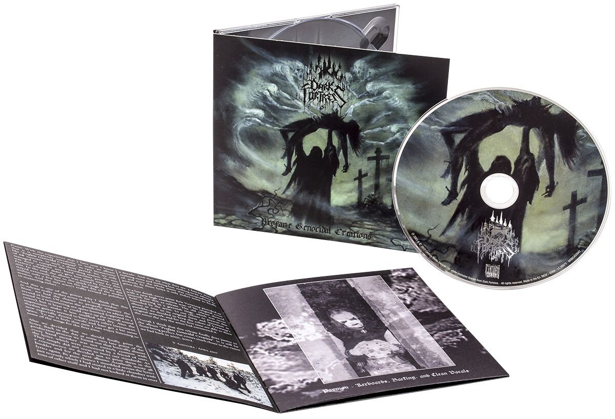 Image of   Dark Fortress Profane genocidal creations CD standard