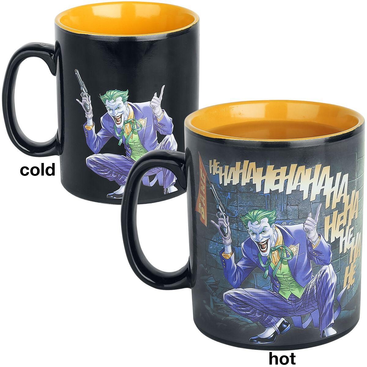 Image of   Batman Batman & Joker - motivskiftende Krus multifarvet