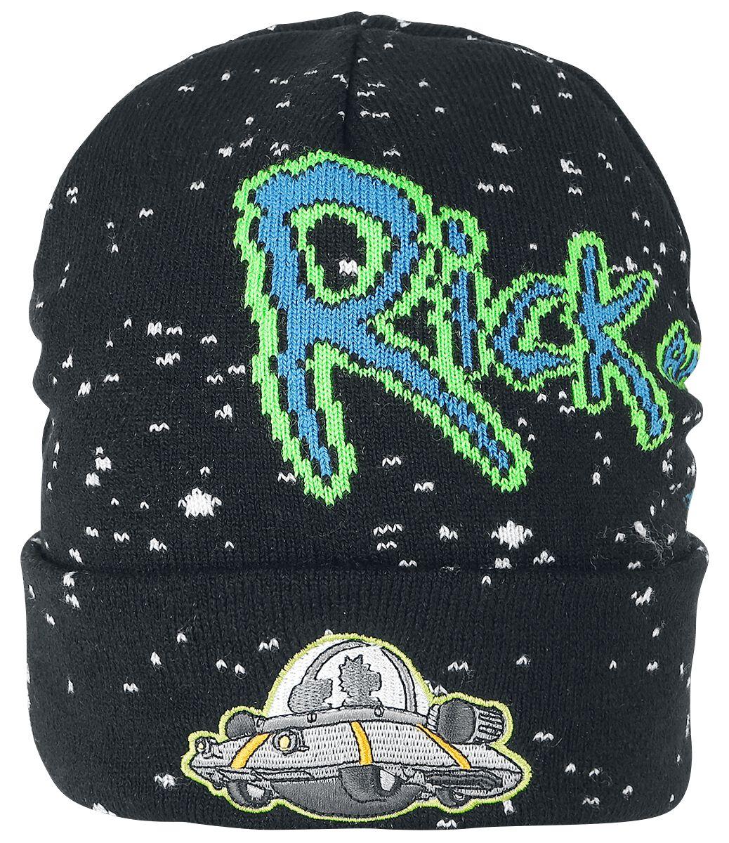 Rick and Morty Spaceship Gorro multicolor