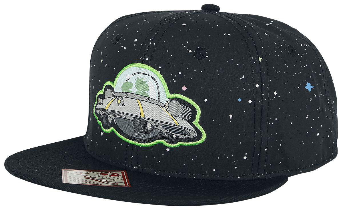 Image of   Rick And Morty Spaceship Snapback Cap multifarvet