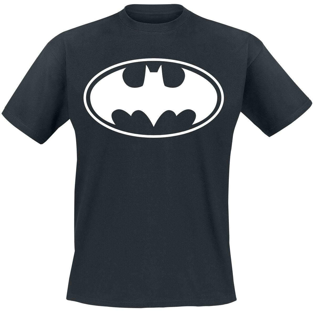 Image of   Batman Logo T-Shirt sort