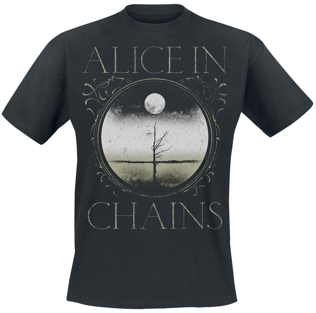 Zespoły - Koszulki - T-Shirt Alice In Chains Moon Tree T-Shirt czarny - 369641
