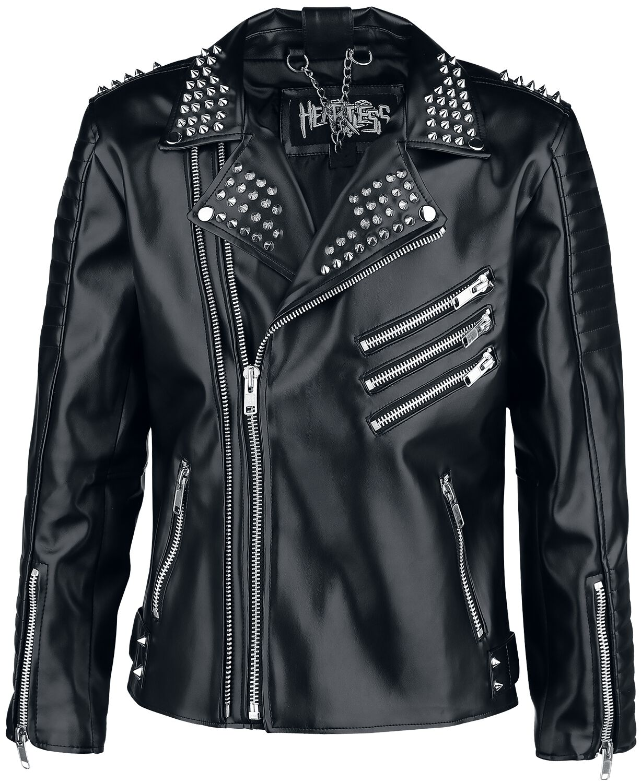 Image of   Heartless Chor Biker Jacket Jakke sort