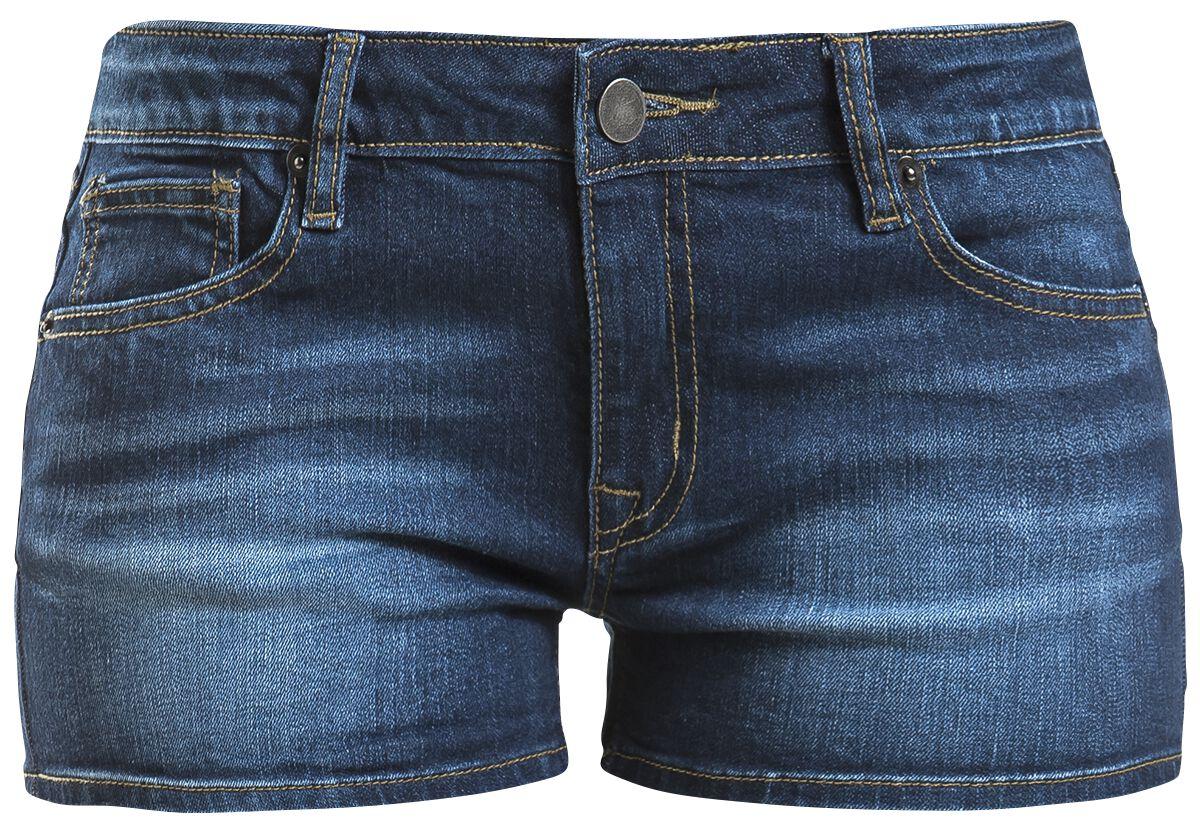 Image of   Forplay Denim Hotpant Girlie shorts blå