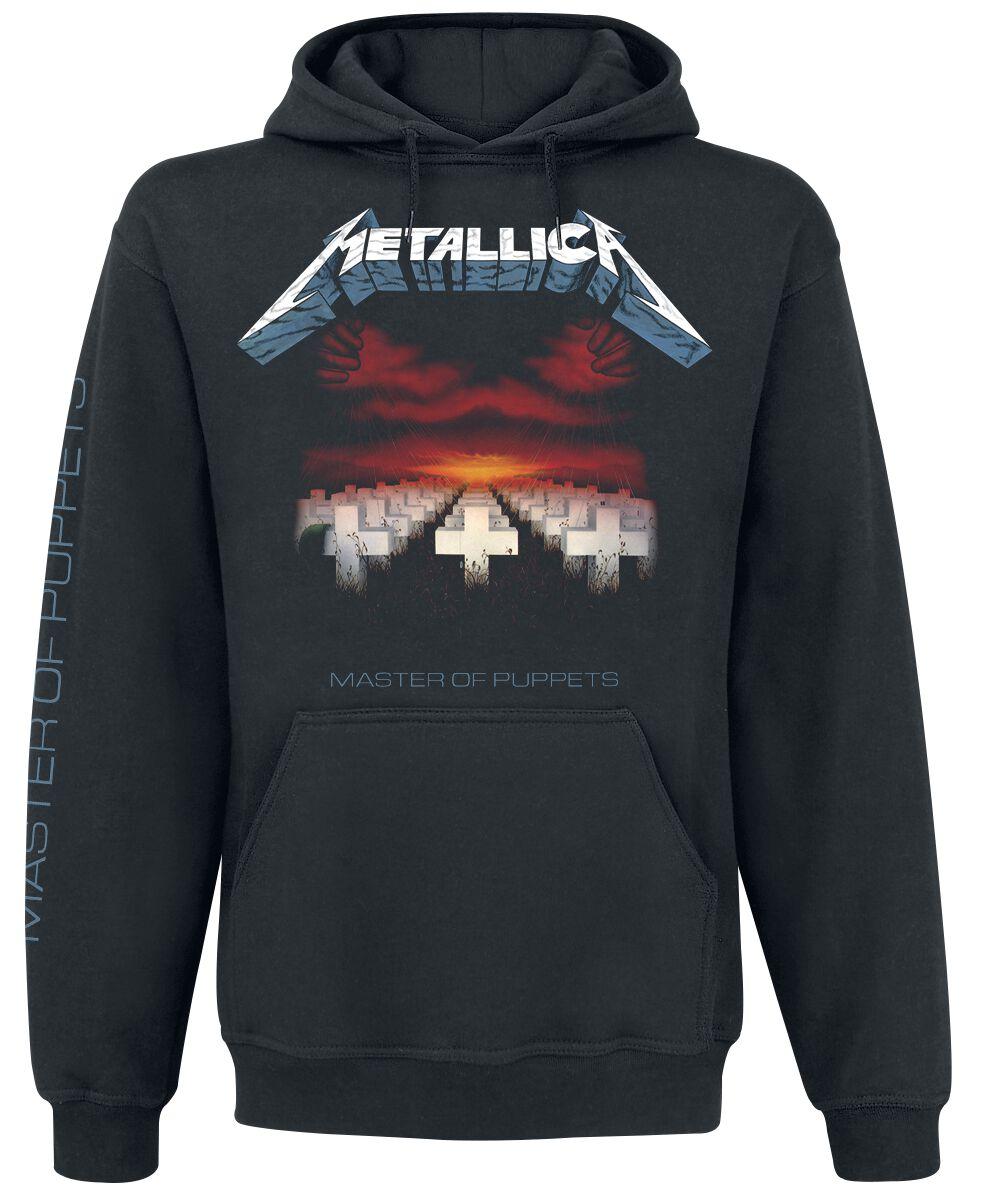 Image of   Metallica Master Of Puppets Hættetrøje sort