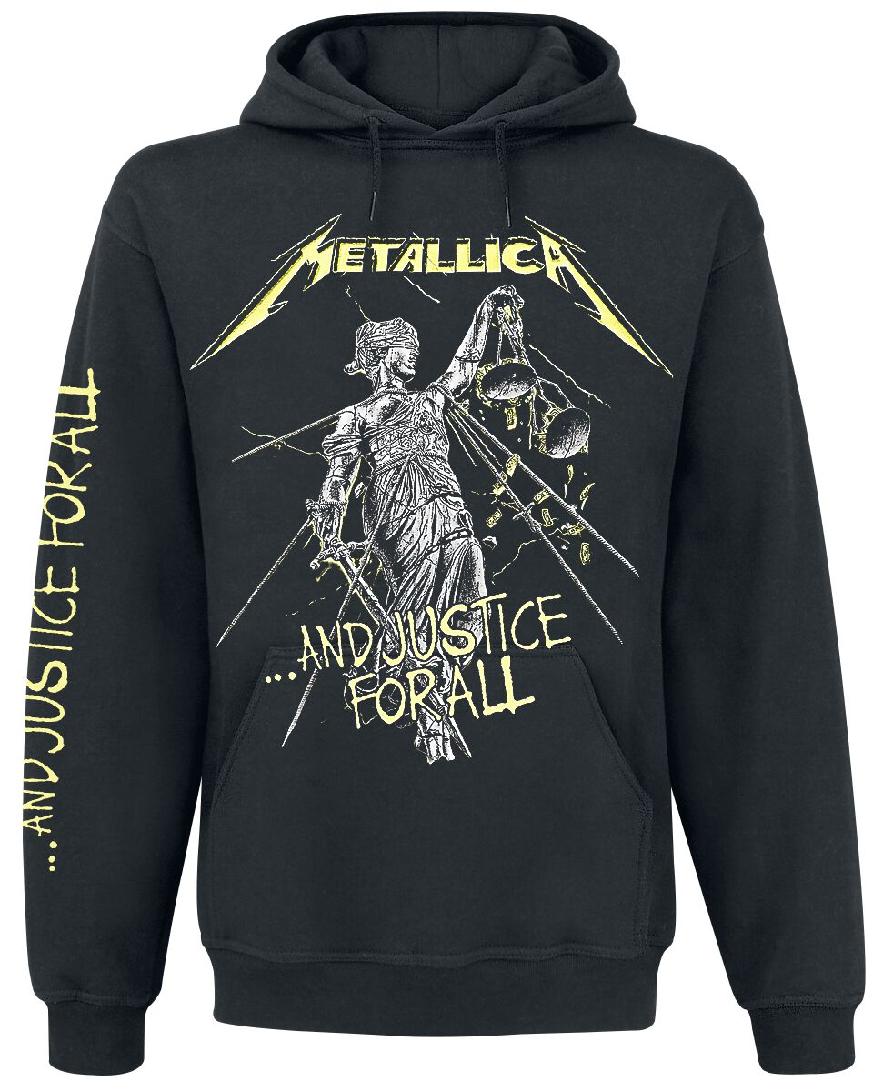 Image of   Metallica ...And Justice For All Hættetrøje sort
