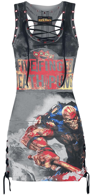 Image of   Five Finger Death Punch EMP Signature Collection Kjole sort