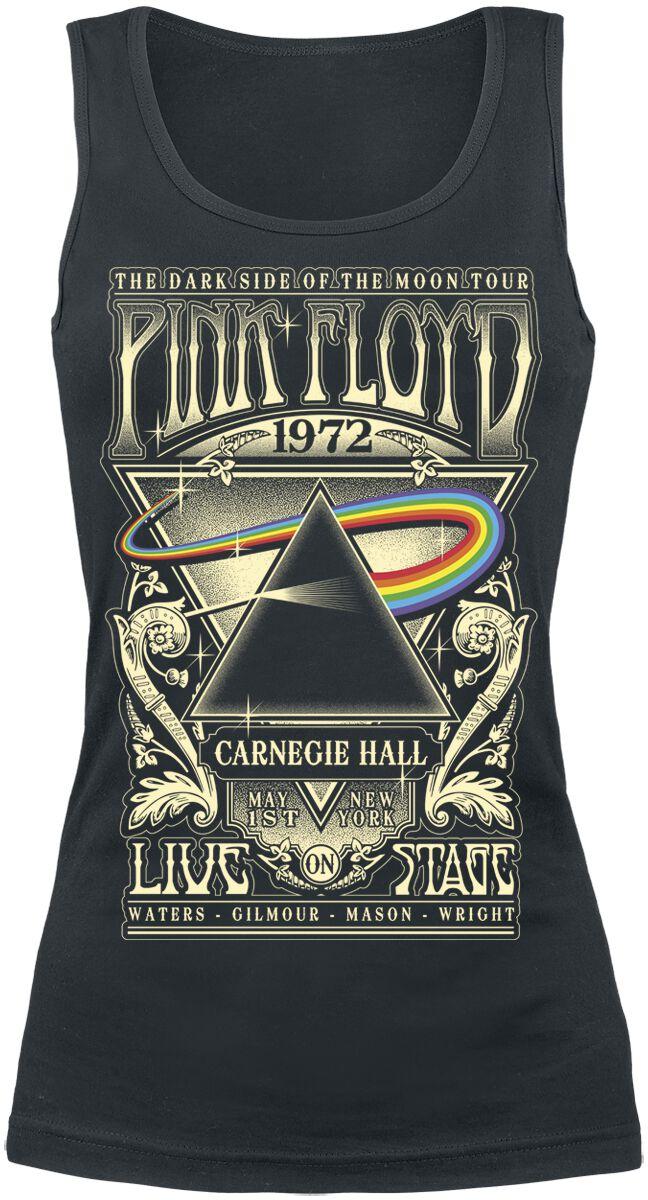 Image of   Pink Floyd Dark Side Of The Moon - Live On Stage 1972 Girlie top sort