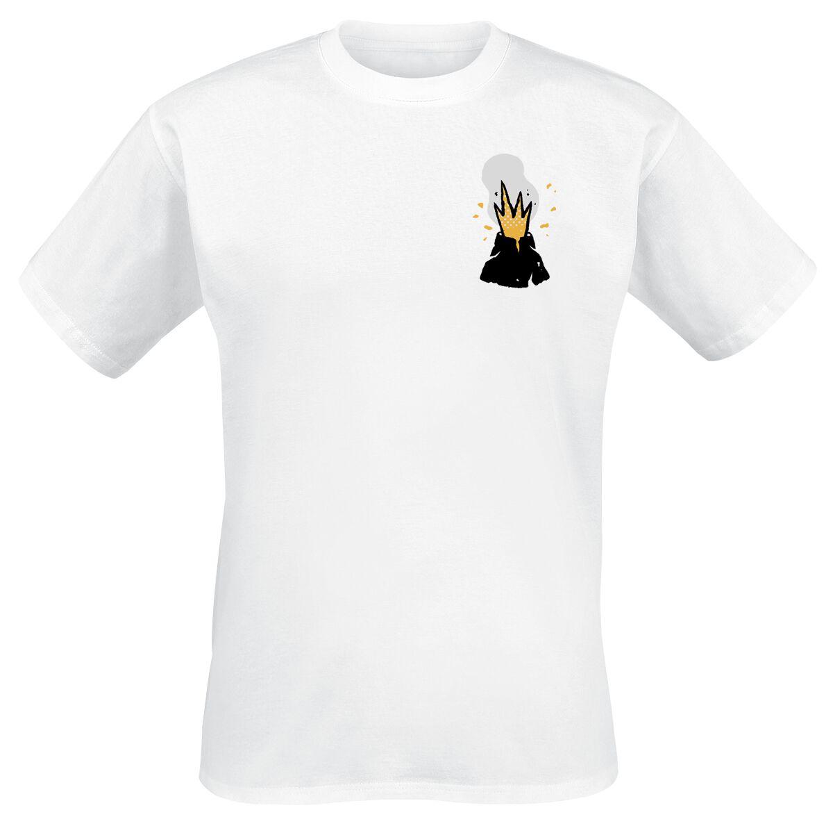 Image of   Bring Me The Horizon Volcano T-Shirt hvid