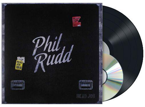 Rudd, Phil Head job LP & CD Standard