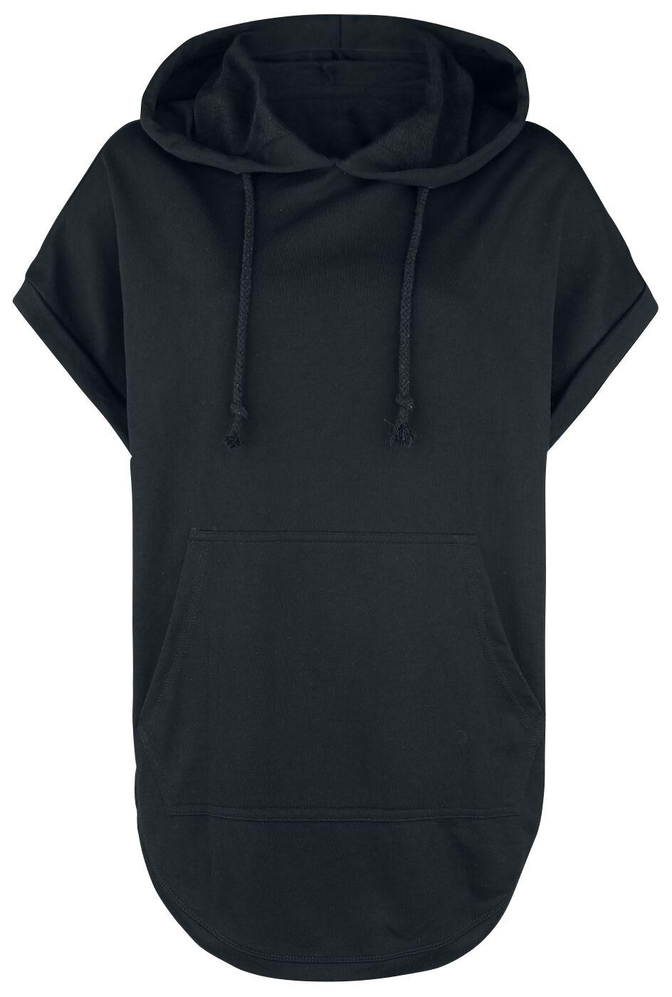 Image of   Forplay Oversize Kurzarm Kapuzenshirt Girlie trøje sort