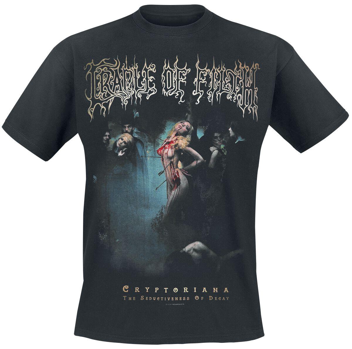 Zespoły - Koszulki - T-Shirt Cradle Of Filth Cryptorian T-Shirt czarny - 369909