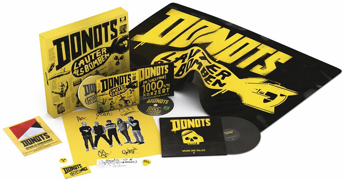 Image of Donots Lauter als Bomben CD & DVD & 7 inch Standard