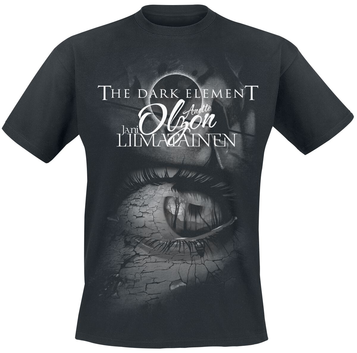 Image of   Dark Element, The (feat. Anette Olzon) The dark element T-Shirt sort