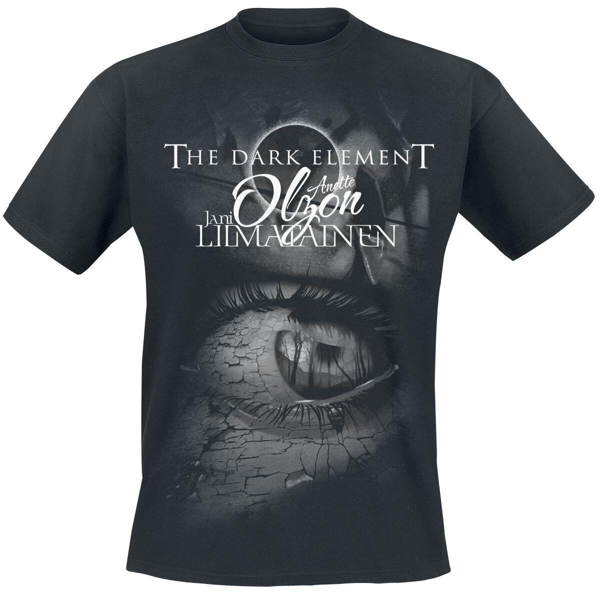 Zespoły - Koszulki - T-Shirt Dark Element, The (feat. Anette Olzon) The dark element T-Shirt czarny - 369941