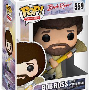 Figurine Pop! Bob Ross avec Tenue de Travail