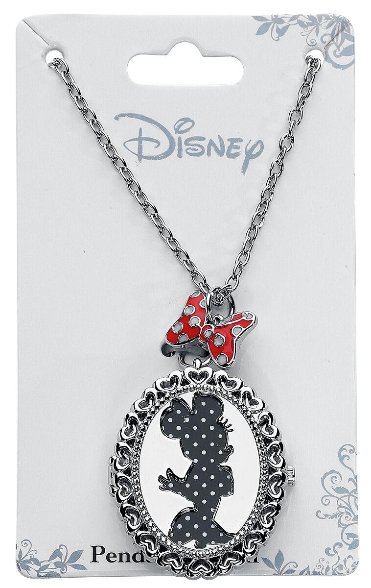 Image of   Minnie Mouse Minnie Kædeur sølvfarvet