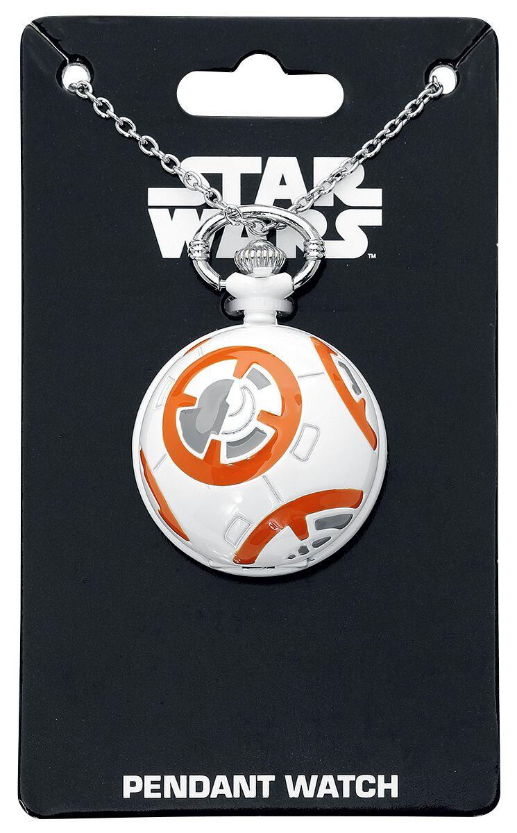 Image of   Star Wars BB-8 Kædeur hvid-orange