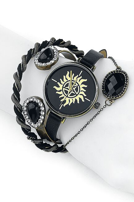 Image of   Supernatural Anti Possession Armbåndsur sort