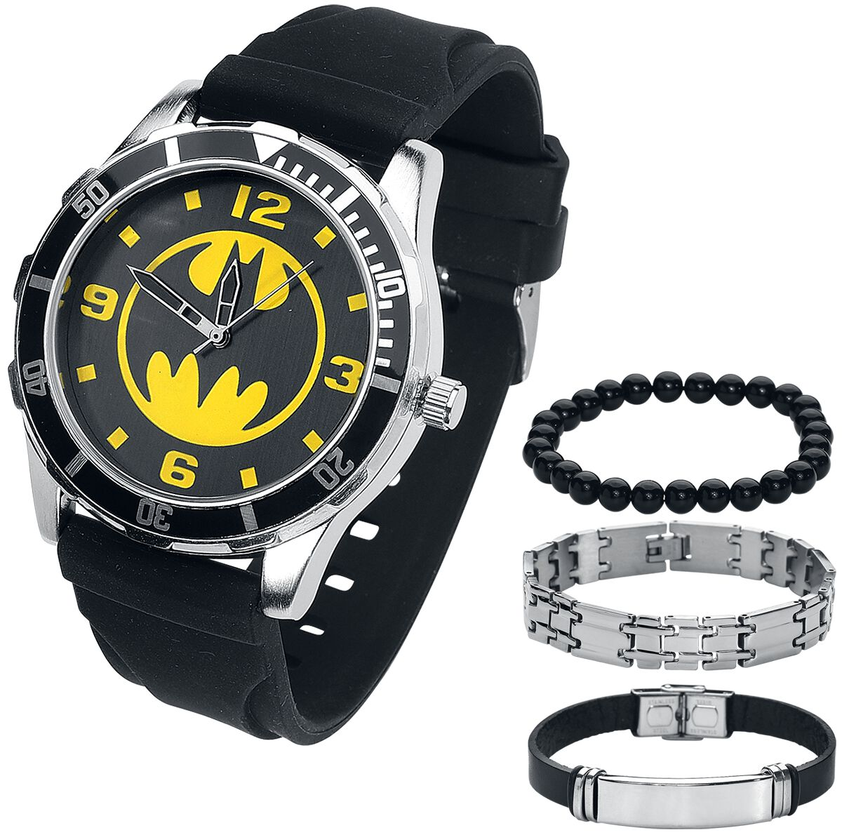 Image of   Batman Batman Set Armbåndsur sort
