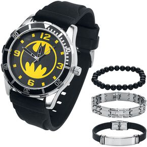 Batman Batman Set Montre bracelet noir